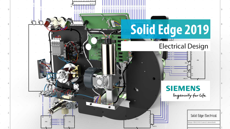 Solid Edge 2019 Electrical Design | Kabelbaumerstellung
