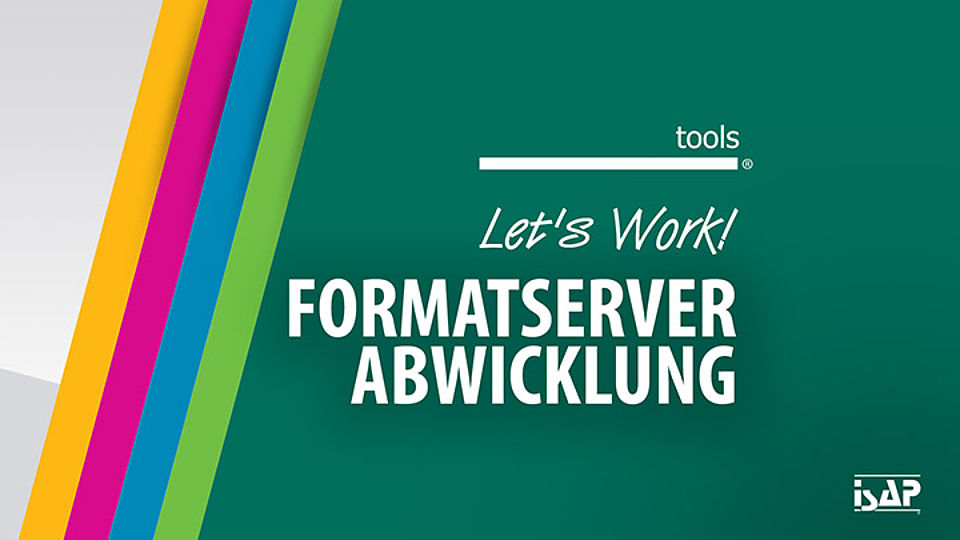 EdgePLM TOOLS Formatserver Abwicklung