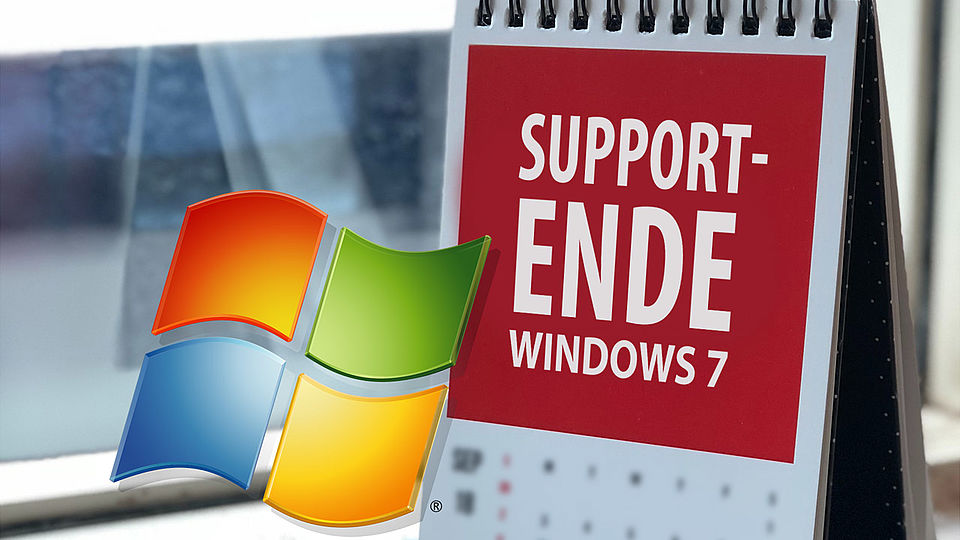 Supprt-Ende für Windows 7 Systeme | Betriebssystem Windows 10