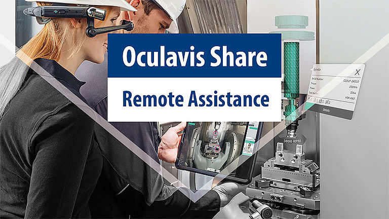 Remote Assistance mit Oculavis Share